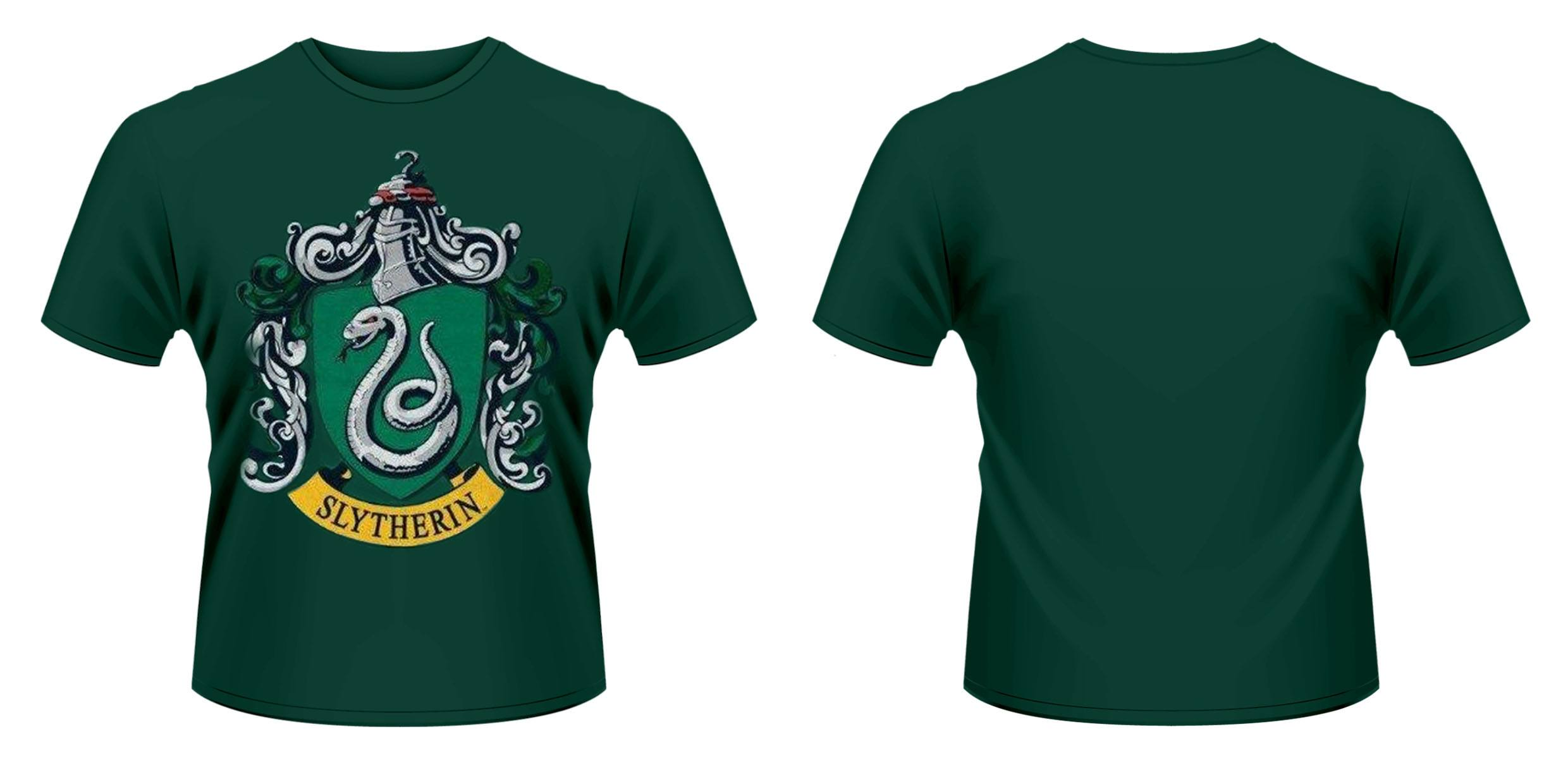 Harry Potter T-Shirt Slytherin Crest Size XL