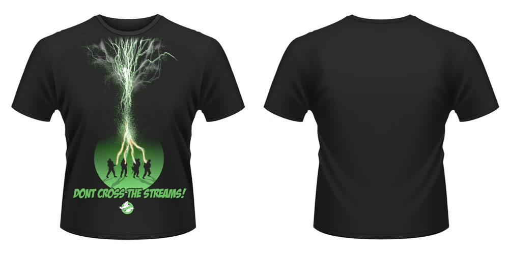 Ghostbusters T-Shirt Don't Cross The Streams Size L