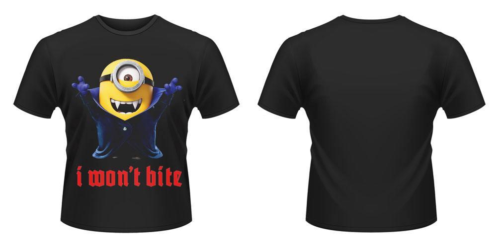 Minions T-Shirt I Wont Bite Size XL