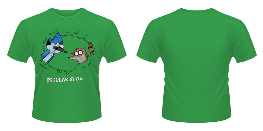 Regular Show T-Shirt Tree Size XL