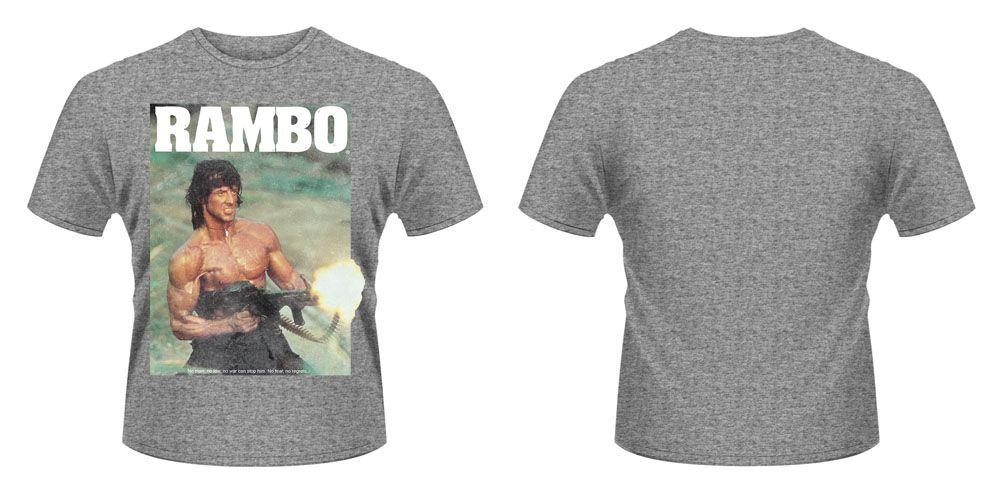 First Blood T-Shirt Gun Size M