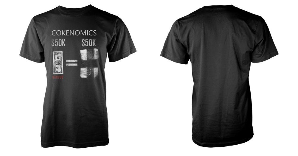 Narcos T-Shirt Cokenomics Size S