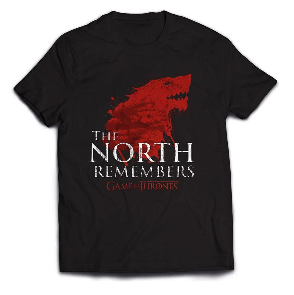 Game of Thrones T-Shirt The North Remembers Size XL