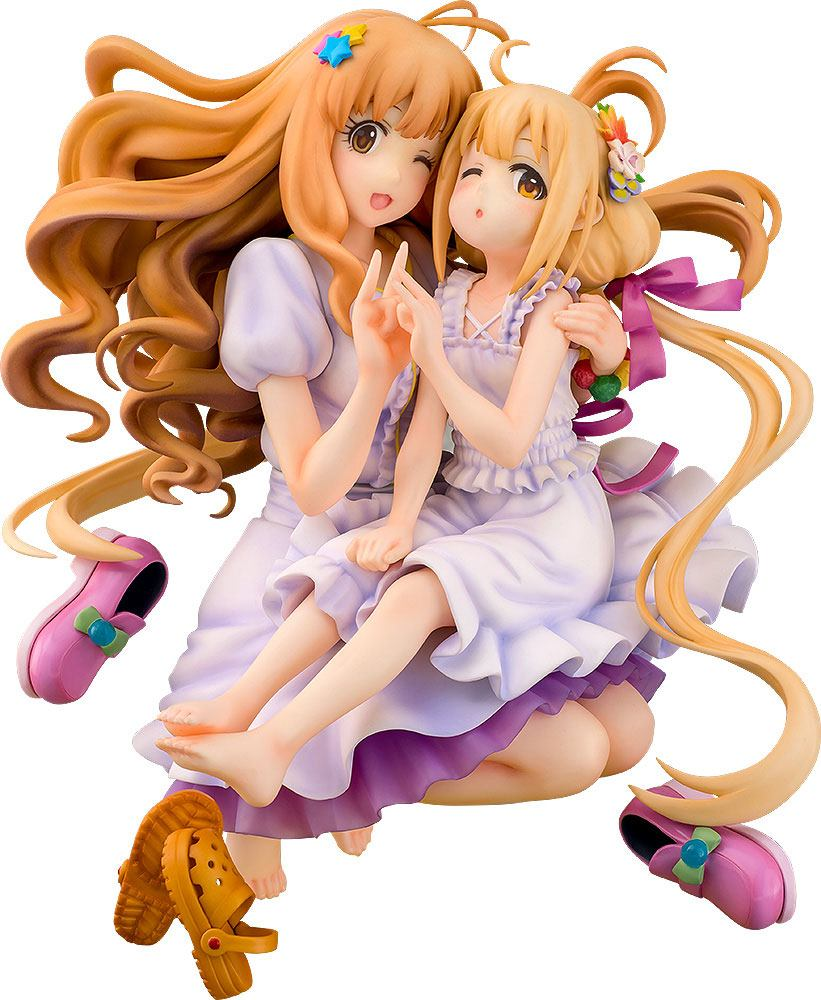 Idolmaster Cinderella Girls PVC Statue 1/8 Kirari Moroboshi & Anzu Futaba 21 cm