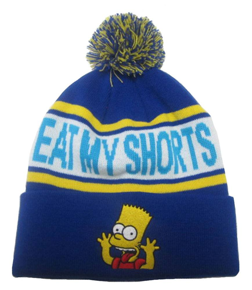Simpsons Beanie Eat My Shorts