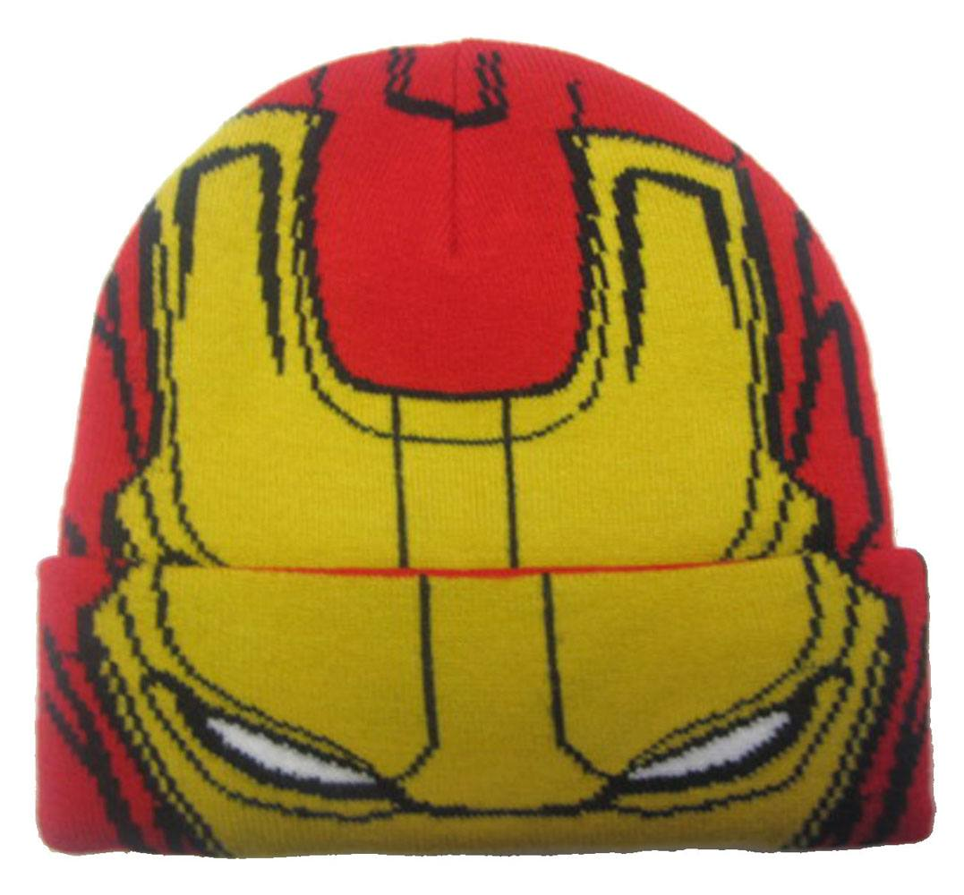 Marvel Comics Kids Beanie Iron Man