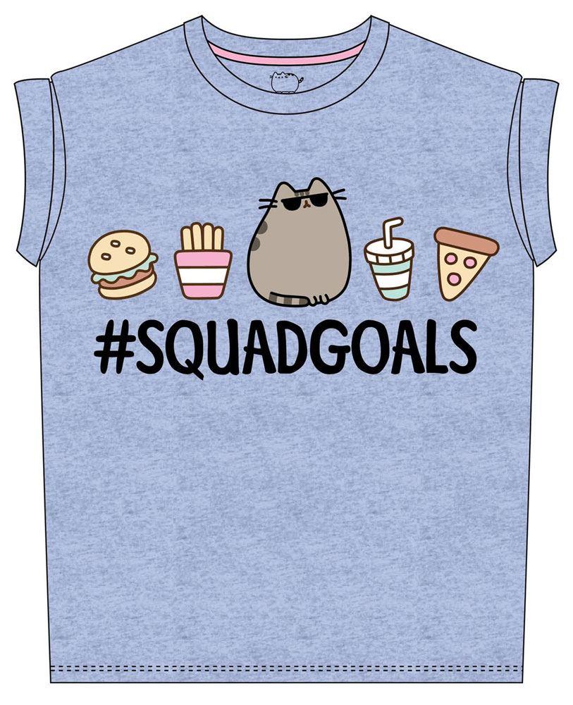 Pusheen Ladies T-Shirt Squad Goals Size S