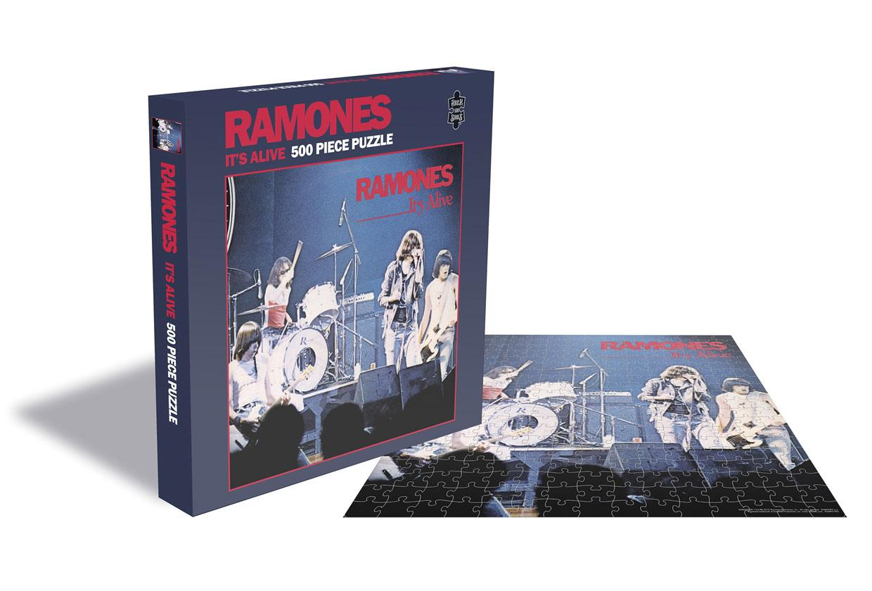 Ramones Puzzle It's Alive