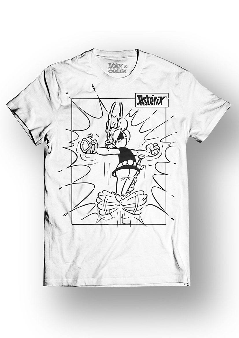 Asterix T-Shirt Power Size XL