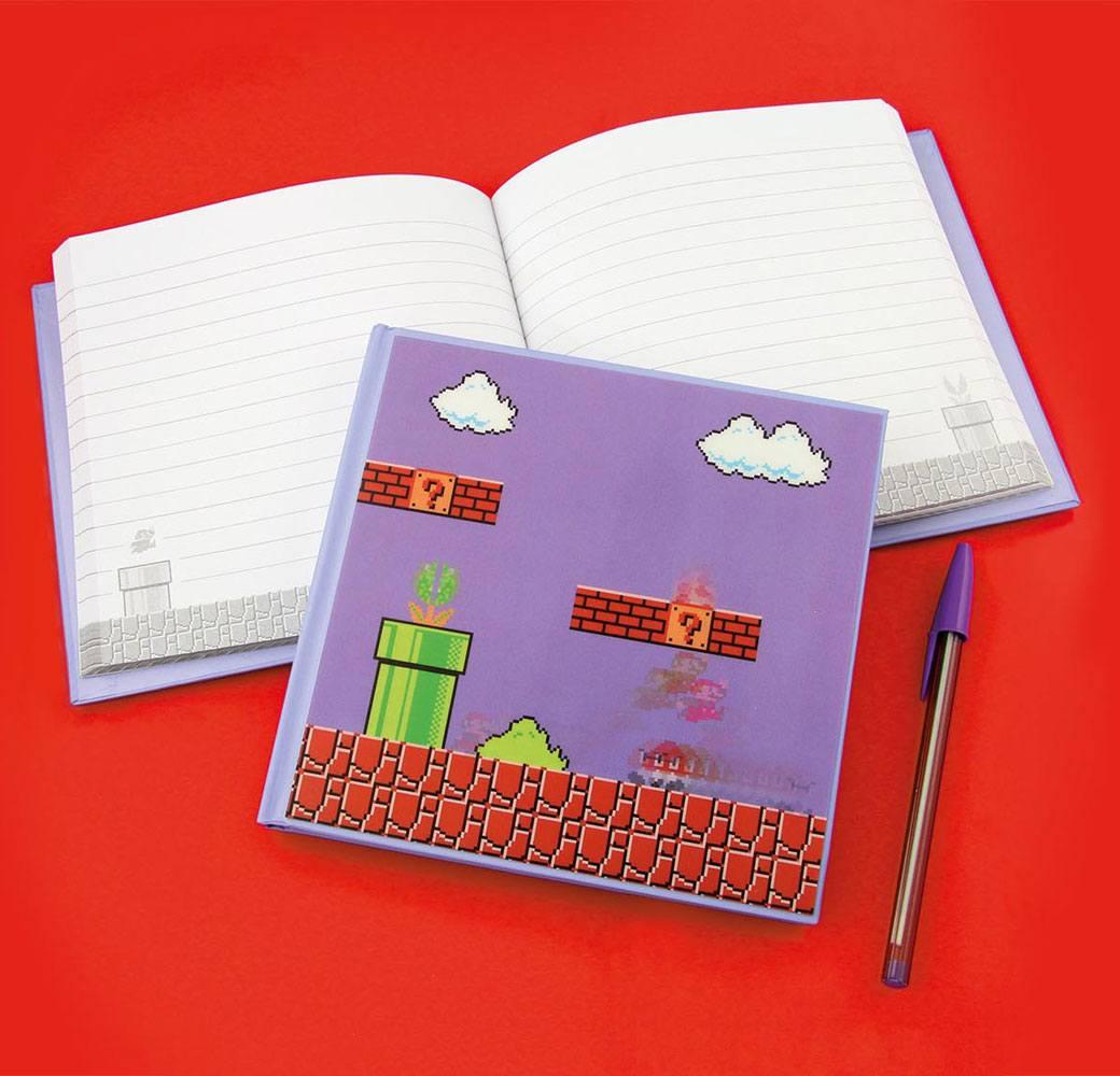 Super Mario Bros. 3D Notebook Mario Bros Level