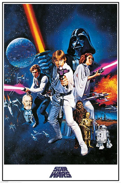 Star Wars Poster Pack A New Hope 61 x 91 cm (5)