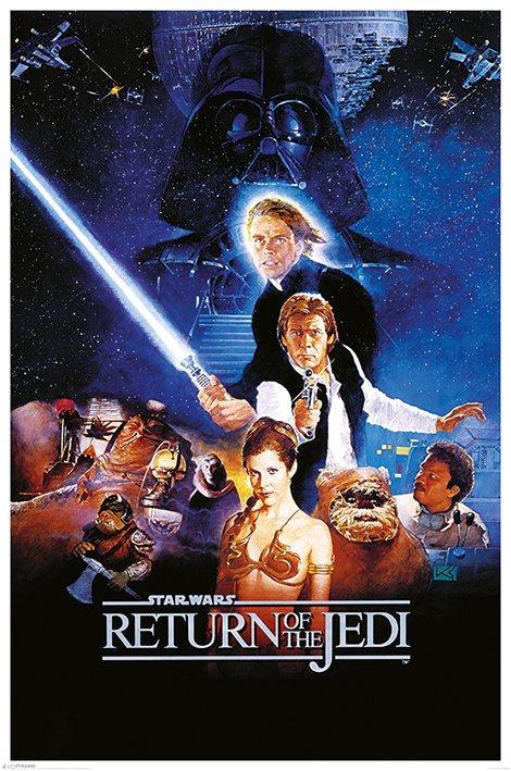 Star Wars Poster Pack Return of the Jedi 61 x 91 cm (5)