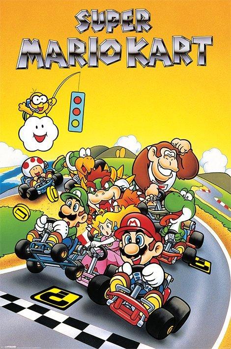 Super Mario Kart Poster Pack Retro 61 x 91 cm (5)