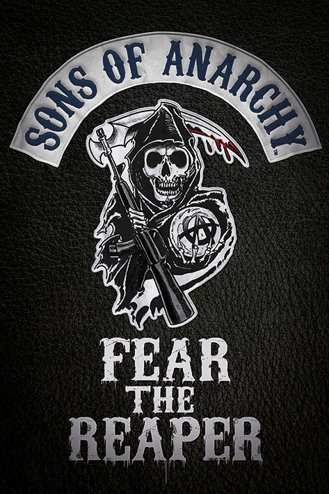 Sons of Anarchy Poster Pack Fear The Reaper 61 x 91 cm (5)
