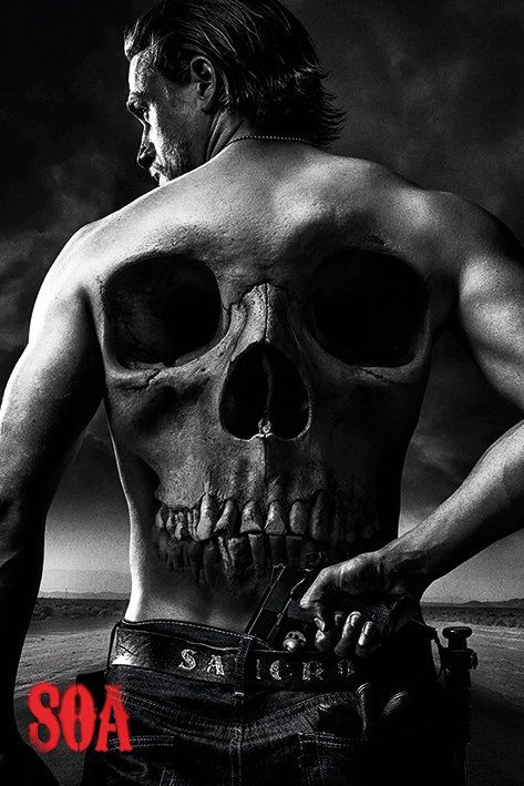 Sons Of Anarchy Poster Pack Jax Back 61 x 91 cm (5)
