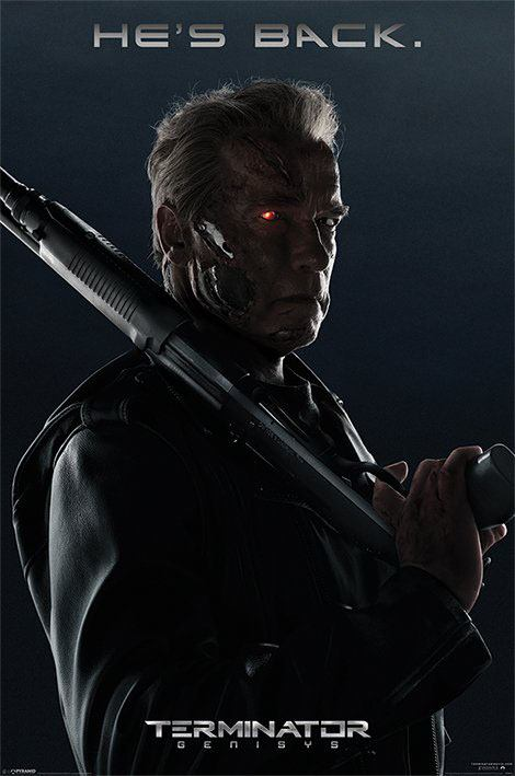 Terminator Genisys Poster Pack He Is Back 61 x 91 cm (5)