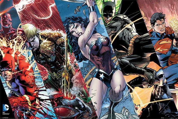 DC Comics Poster Pack Heroes 61 x 91 cm (5)