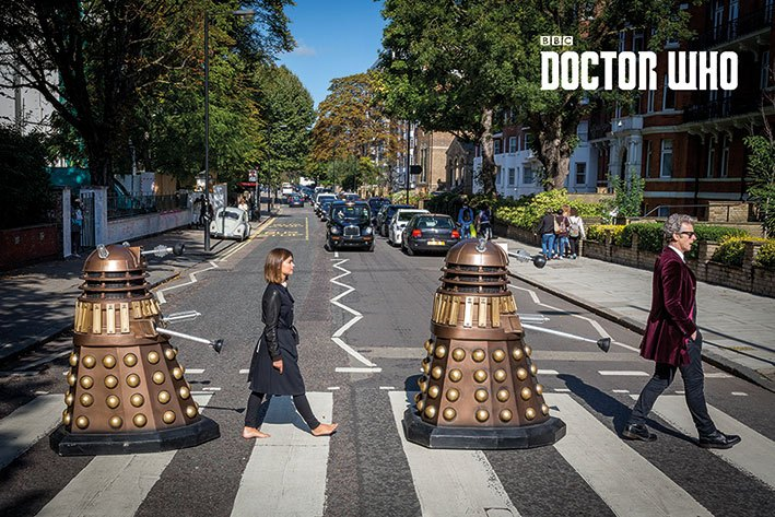 Doctor Who Poster Pack Abbey Road 61 x 91 cm (5)