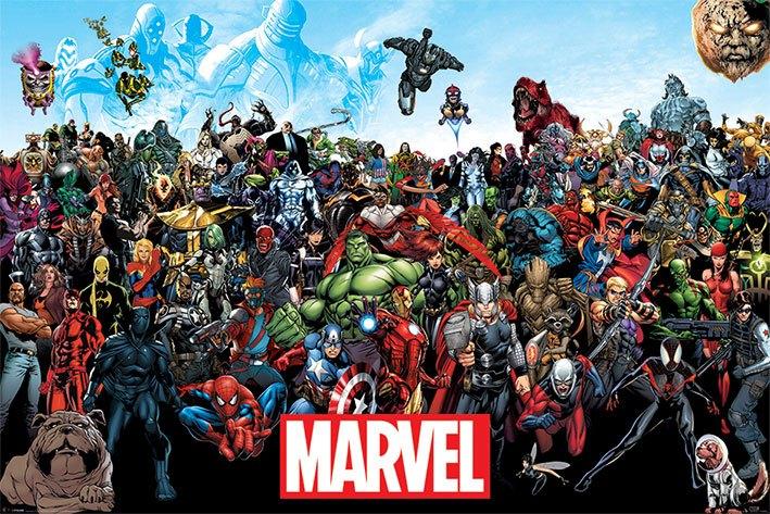 Marvel Comics Poster Pack Universe 61 x 91 cm (5)