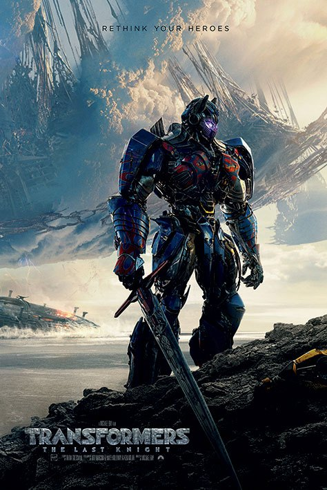 Transformers The Last Knight Poster Pack Rethink Your Heroes 61 x 91 cm (5)
