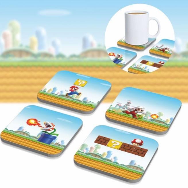 Super Mario 3D Coaster 8-Pack