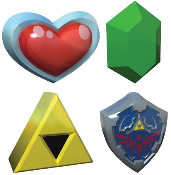 Legend of Zelda 3D Stress Balls 8 cm Display (16)