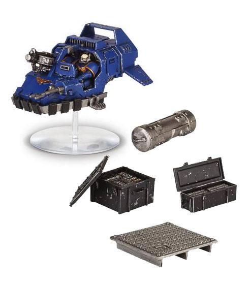 Warhammer 40K Build+Paint Model Set Series 1 Space Marine Speeder Strike