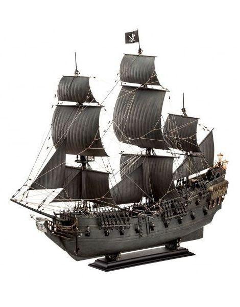 Pirates of the Caribbean Dead Men Tell No Tales Model Kit 1/72 Black Pearl 47 cm