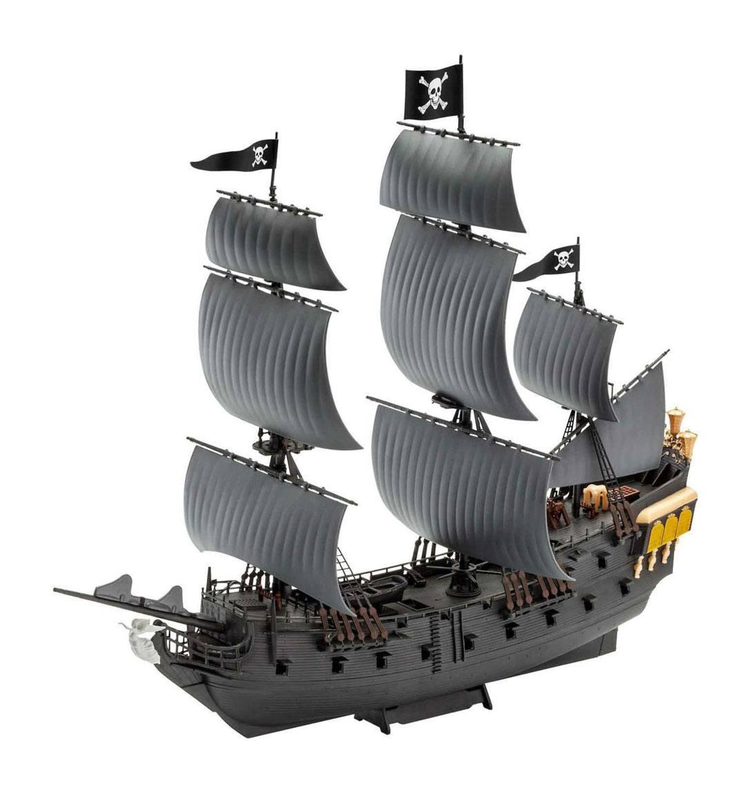 Pirates of the Caribbean Dead Men Tell No Tales Model Kit 1/150 Black Pearl 26 cm