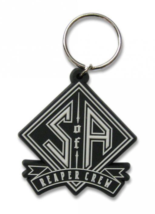 Sons Of Anarchy Rubber Keychain Reaper Crew 6 cm