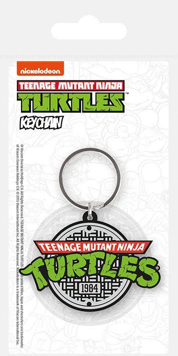 Teenage Mutant Ninja Turtles Rubber Keychain Logo 6 cm