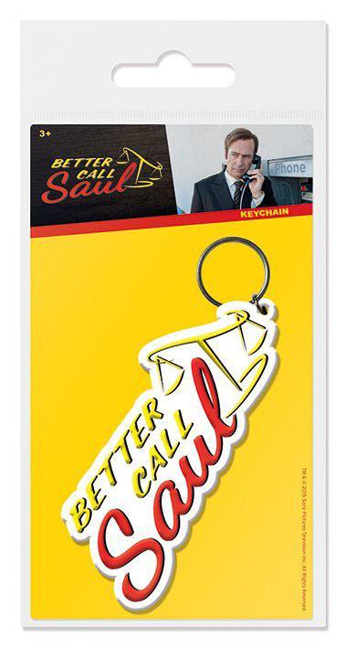 Better Call Saul Rubber Keychain Logo 6 cm