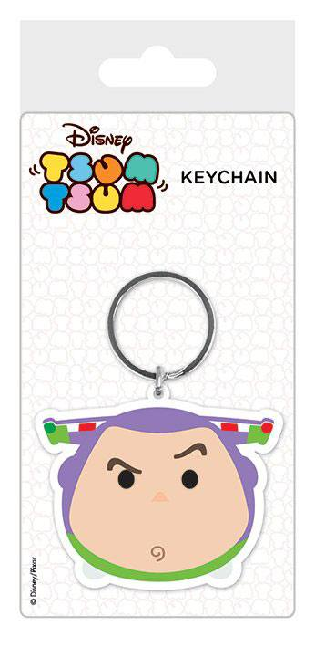 Disney Tsum Tsum Rubber Keychain Buzz 6 cm