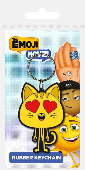 The Emoji Movie Rubber Keychain Cat 6 cm