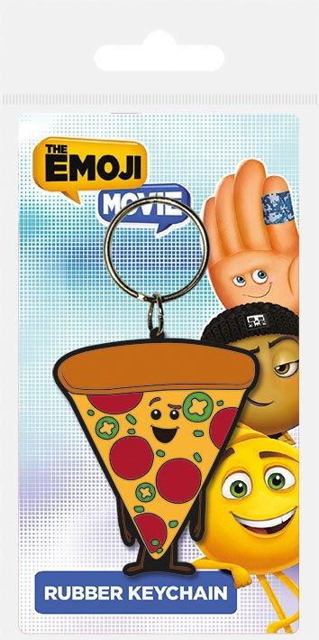 The Emoji Movie Rubber Keychain Pizza 6 cm