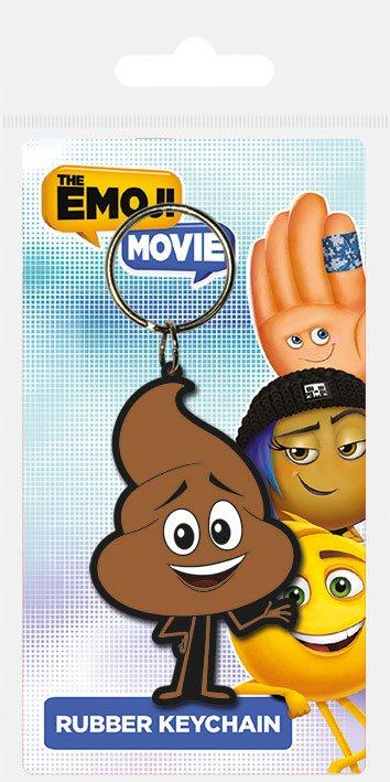 The Emoji Movie Rubber Keychain Poop Jnr 6 cm