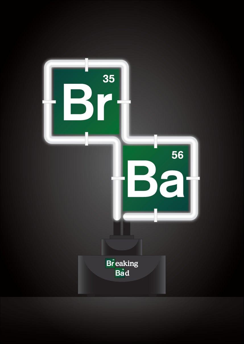 Breaking Bad Neon Light Logo 20 x 27 cm