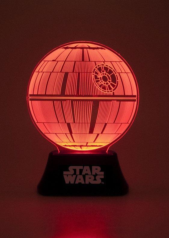 Star Wars Episode VII Acrylic Table Light Death Star 18 cm