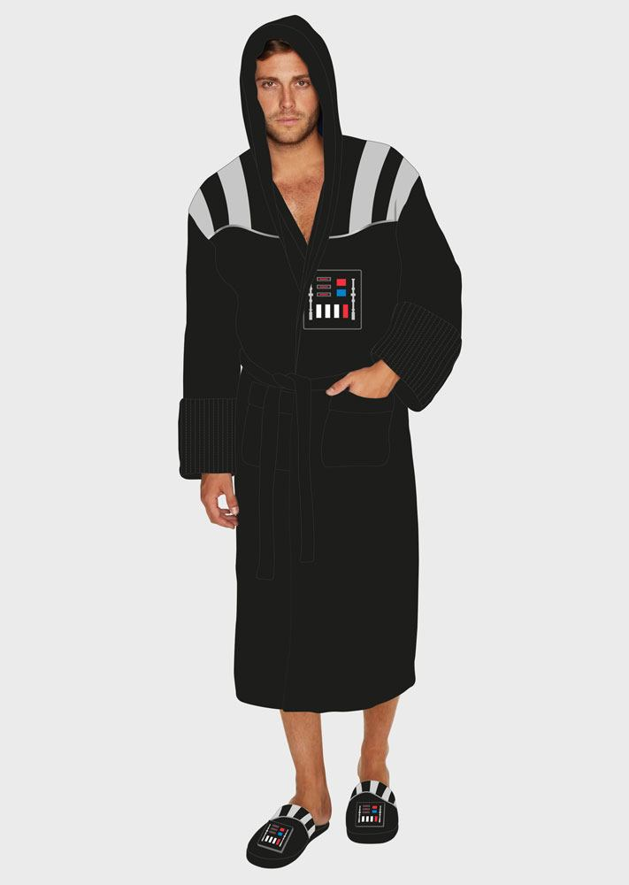 Star Wars Fleece Bathrobe with Sound Darth Vader