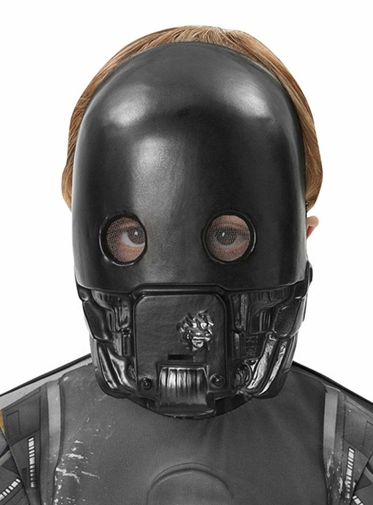 Rubies Star Wars Rogue One 1/2 Kids Mask K-2SO