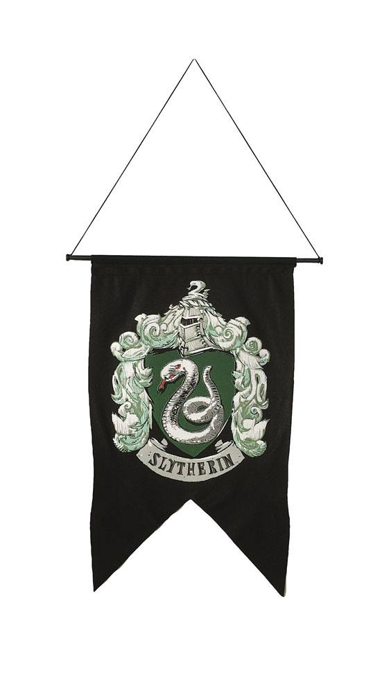 Harry Potter Printed Wall Banner Slytherin 50 x 76 cm