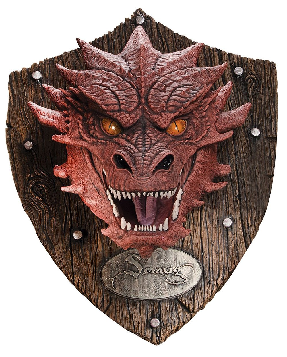 The Hobbit The Battle of the Five Armies Trophy Wall Decor Smaug 76 cm