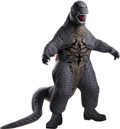 Godzilla Inflatable Costume Godzilla