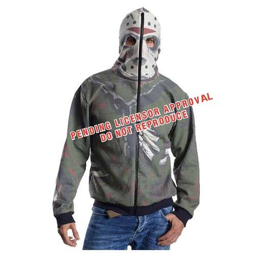 Friday the 13th Hooded Sweater Jason Voorhees Size STD
