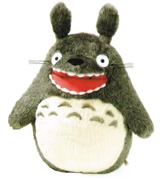 My Neighbor Totoro Plush Figure Howling M 28 cm
