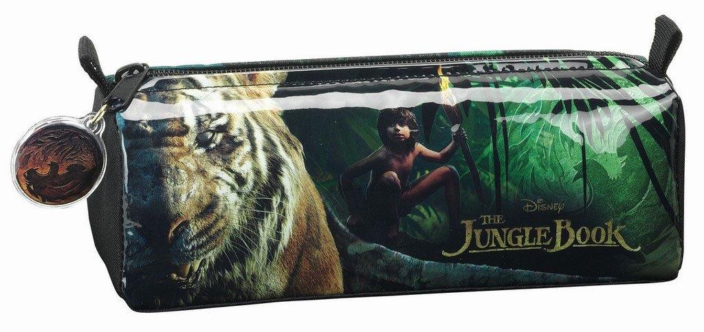 The Jungle Book 2016 Pencil Case Mowgli & Shere Kahn 21 cm