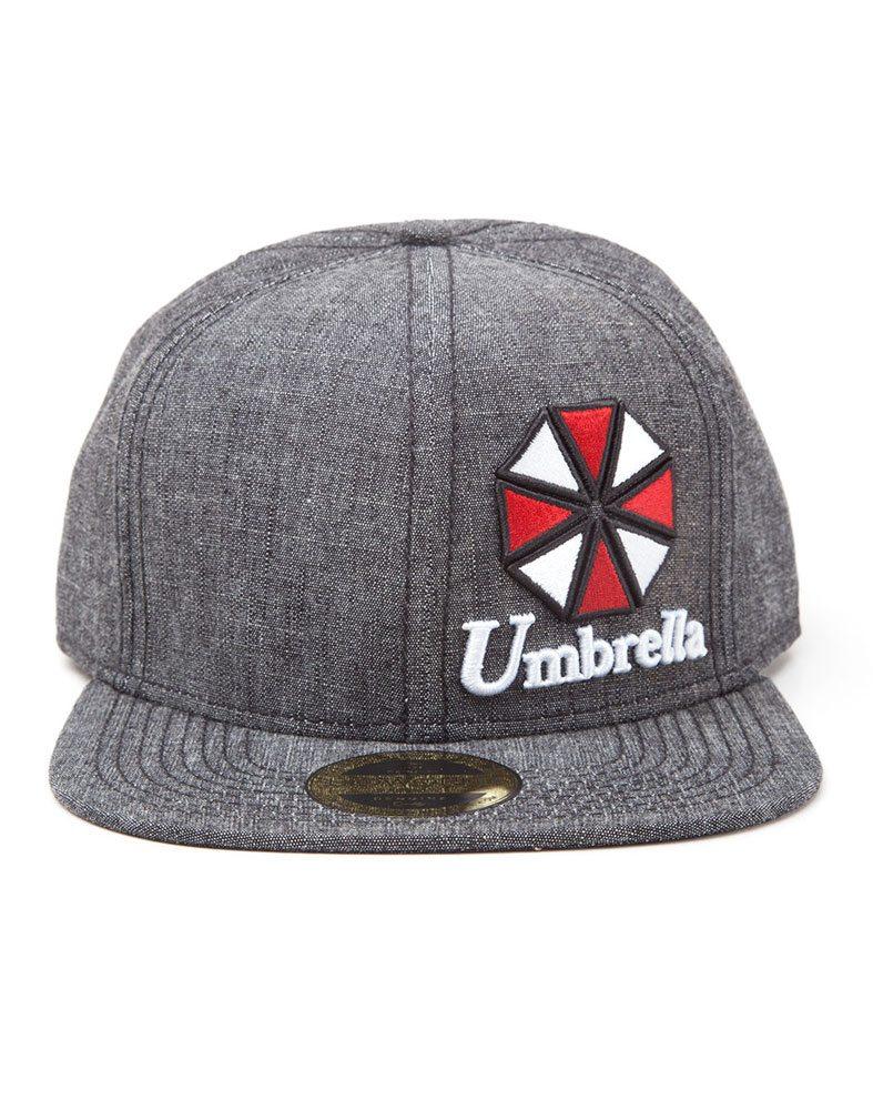 Resident Evil Snap Back Cap Umbrella Logo