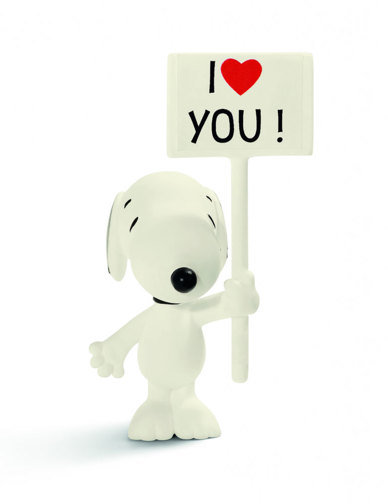 Peanuts Figure I Love You! Snoopy 7 cm