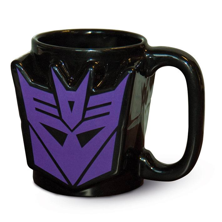 Transformers G1 3D Mug Decepticon Shield