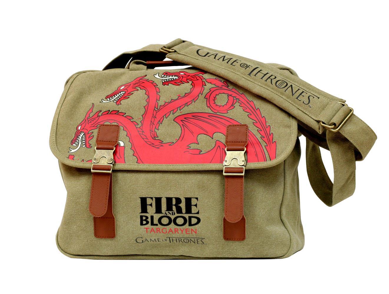 Game of Thrones Messenger Bag Targaryen